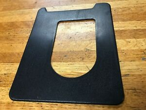 1971 1972 1973 Ford Mustang Mercury Cougar Manual Trans Console Shifter Bezel