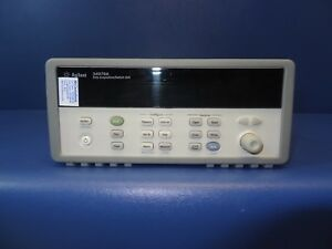 Keysight Agilent 34970a Data Acquisition With Dmm