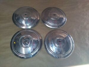 Chevy Corvette Rally 14 15 Wheel Center Cap Set Of 4 Used 27 81105 54622