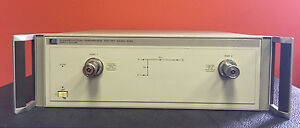 Hp Agilent 8512a 45 Mhz To 18 Ghz Reflection Transmission Test Set For 8510