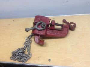 Armstrong Mfg Co Commercial Portable Pipe Clamp Professional Plumbing Tool Used