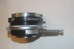 Nikon Microscope Rotating Intermediate Pol Analyzer W slide