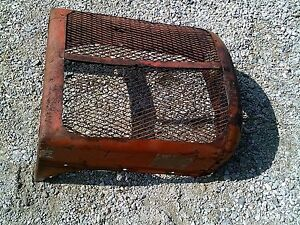 Allis Chalmers Ac Wd45 Wd Tractor Original Front Nose Cone Grill With Side Wings