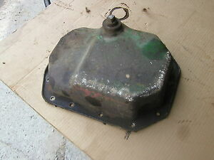 John Deere Luc L Li Tractor Jd Engine Motor Oil Drain Pan With Drain Plug