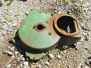 1951 John Deere A Tractor Jd Transmission Cover Behind Belt Pulley Cover A4022r