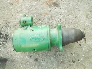 Oliver 66 Rowcrop Tractor Good Working Engine Motor Starter Drive Assembly