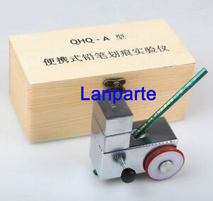 Qhq a Portable Pencil Hardness Tester Meter Durometer 3 in 1 500g 750g 1000g