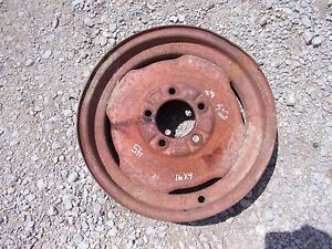 Allis Chalmers Wd 45 Wd45 Tractor 4 X 16 Front Ac Rim To Use With Tire