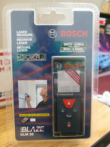 Bosch Glm 30 100ft Laser Measure