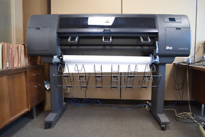 used Hp Designjet 4000ps 42 Large Format Printer plotter Pick Up Only