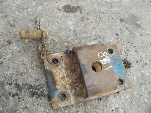 Ford 861 Tractor Main Drawbar Hitch Tongue Anchor Bracket W Pin