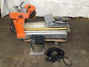 Mk Diamond 10 Wet Tile Saw Mk 101 Pro24 Ceramic Cutting Masonry Cutter Electric