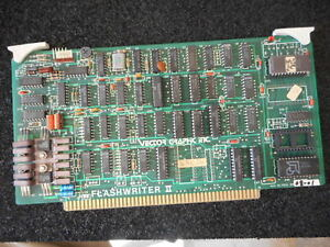 Vector Graphic Flashwriter Ii 3514 0008 01 3514000801 Board Pcb