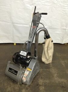 Clarke Ez 8 Drum Floor Sander Hardwood Sanding Refinishing Wood Refurbished Drum