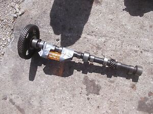 Oliver 66 Gas Tractor Engine Main Cam Shaft Camshaft Drive Gear Ready To Use