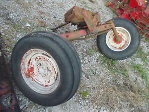 Allis Chalmers Wd Wd45 Tractor Factory Wide Frontend Hubs Rims Float Tires