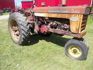 Farmall 460 Diesel Tractor Fast Hitch 2pt Live Pto Live Hydraulics 15 5 X38 s Ih