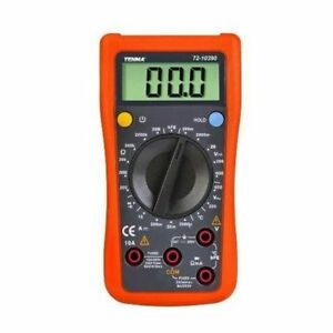 Tenma 72 10390 Handheld Digital Multimeter With Transistor Test And Temperature