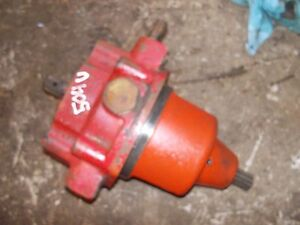 Farmall 504 Utility Tractor Working Live Ihc Pto Unit Pto Assembly