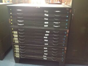 Hamilton 15 Drawer Plan flat File Storage Cabinet Map Plan Blueprints Tool Box