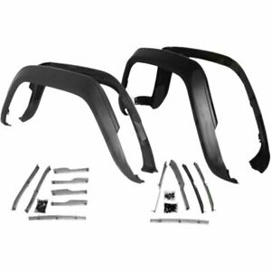 Fender Flare Extensions Set Of 4 Front Rear New Jeep Cherokee 1984 1996 5agkm