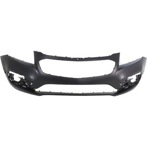 Front Bumper Cover For 2015 Chevrolet Cruze Lt Ltz Models Primed Plastic