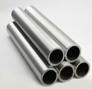 1x Titanium Grade 2 Gr 2 Tube Tubing Od 45mm X 37mm Id Wall 4mm Length 500mm