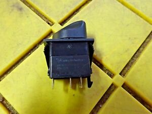 Carling Technologies Rv21b2bd00b k9c Rotary Switch On off Lighted 2 Pole