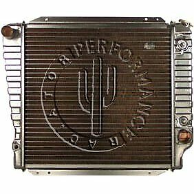 Performance Radiator New Ford Bronco 1968 1977 521