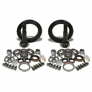 Yukon Gear Axle Ring And Pinion Front Rear New Jeep Wrangler 2007 2014 Ygk016
