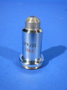 Carl Zeiss Ph1 Phase Contrast 10 10x Microscope Objective