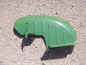 John Deere L Tractor Jd Left Fender W Foot Bracket Platform Step