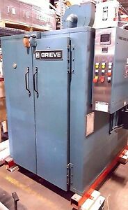 Grieve Cah 350 Industrial Drying Oven Natural Gas Digital Control 350 Deg F
