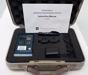 Time Tr100 Surface Roughness Tester Portable Digital Pocket Size With Case