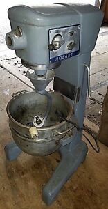 Hobart D 300t Bakery Pizza Dough Mixer 30 Qt W Bowl Attachments