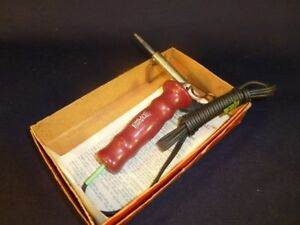 Hexacon Electric Soldering Gun 24 h 60 Watts W Box Stand Instructions