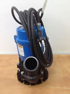 3 Pk Tsurumi Hs2 Submersible 2 Sump Pumps Trash Water Well Small Portable