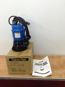 4 Pack Tsurumi Submersible 2 Sump Pumps Trash Water Waste Dewatering
