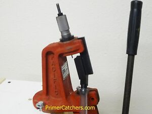 Pacific Power C reloading press upgrade Primer Catcher