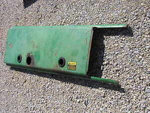 Oliver 1800 Rowcrop Tractor Good Original Hood For Over The Engine Motor