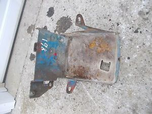 Ford 861 Tractor Working Battery Holder Bottom Tray Bracket Brace