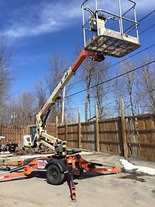 Jlg Used 2006 T350 Boom Man Lift Towable Electric Articulating 35 Manlift Genie