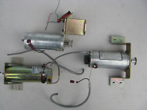 Three X y Table Servo Motors From Melco Emc 6 4t Four Head Embroidery Machine