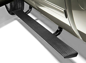 Amp Research plug N Play Folding Power Running Boards Ford F150 2009 2014