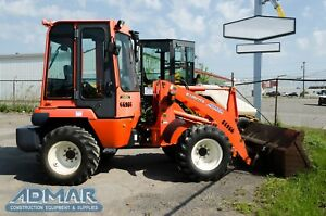 2012 Kubota R520s2t3 Wheel Loader With Heated Cab