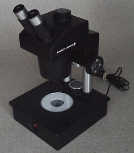 Bausch Lomb B l Asz3712 Academic Stereo Zoom Microscope