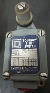 Square D 9007 Ftub12 Heavy Duty Limit Switch Series A no Box