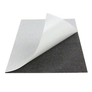 250 Pcs Of Very Thin 12 Mil Adhesive Magnetic Business Card Magnets Usa Made