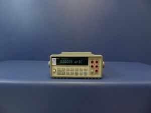 Hp agilent 34401a 6 5 Digit Digital Bench Multimeter Dmm Gpib Rs 232