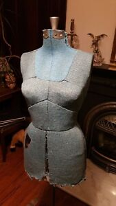 Vintage Sears Adjustable Sewing Form Female Mannequin Torso Size B 36 To 43 Bust